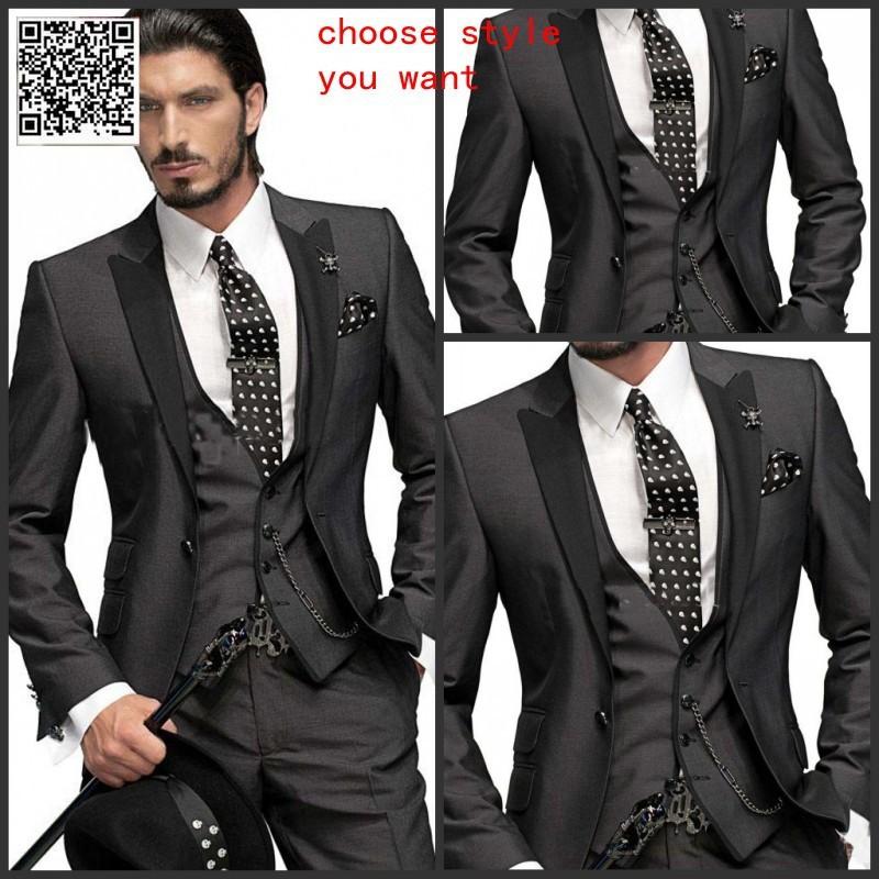 Italian Wedding Suits Men Wedding Party Men Suits Party Dress Lounge Suit Wedding Tuxedos Wedding Suits Cheap Groom Tuxedos Glammyfashion