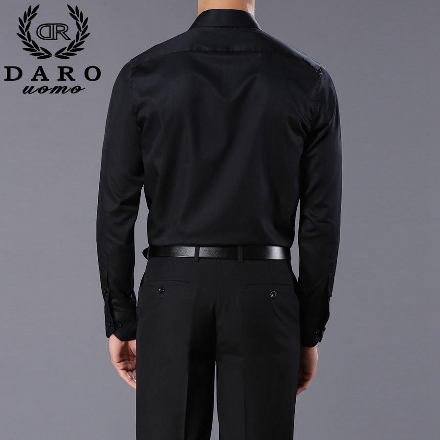 Custom Designer Mens Dress Shirts 2017 Fashion Mens Long Sleeve